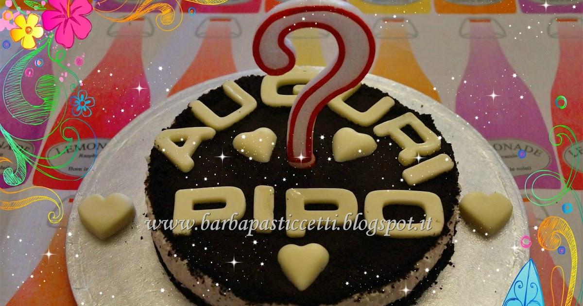 Cheese cake Oreo e Buon Compleanno al mio Papà detto Pipo!