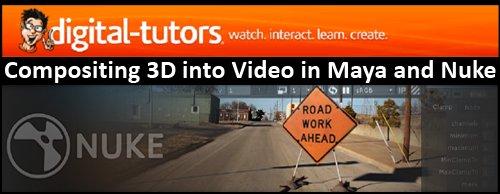 Art Of fx: Digital Tutors: Compositing 3D into Video in Maya