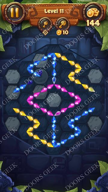 Gems & Magic [Pearl] Level 11 Solution, Walkthrough, Cheats