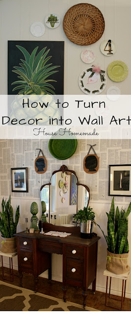 How to Turn Decor into Wall Art