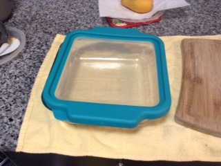 My Early Retirement Journey - square pan with lid