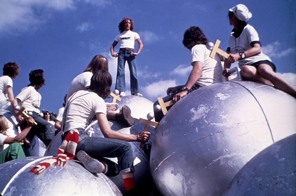 Image result for tommy's holiday camp movie scene big pinballs
