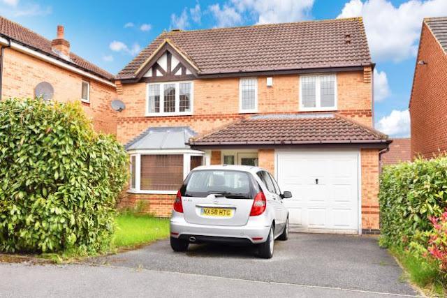 Harrogate Property News - 4 bed detached house for sale Stonecrop Avenue, Killinghall, Harrogate HG3