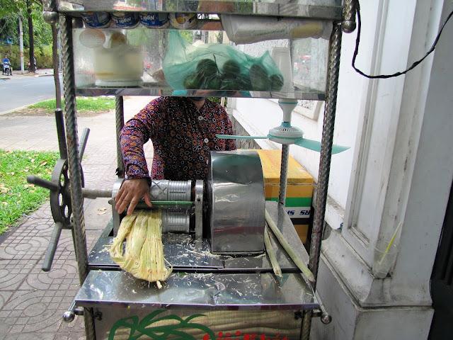 sugarcane juice saigon ho chi minh vietnam