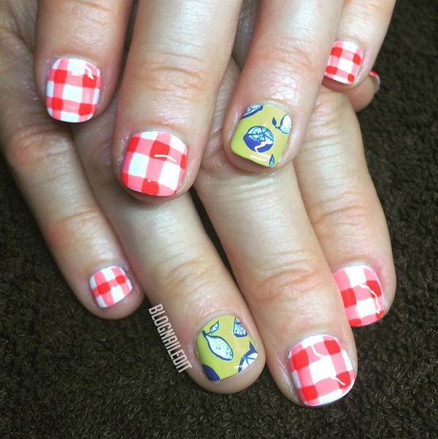 Summer Lemonade by Nailed It @ www.blognailedit.co