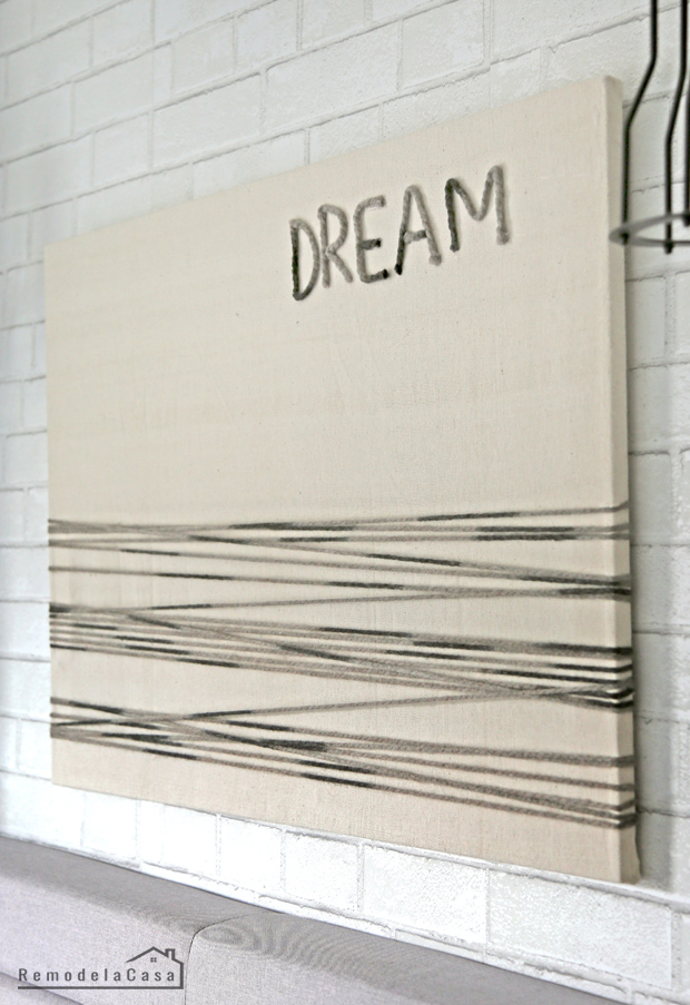 above the bed wall art with canvas frame
