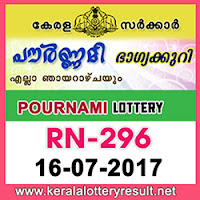 kl result yesterday,lottery results, lotteries results, keralalotteries, kerala lottery, keralalotteryresult, kerala lottery result, kerala lottery result live, kerala   lottery results, kerala lottery today, kerala lottery result today, kerala lottery results today, today kerala lottery result, kerala lottery result 16-07-2017,   pournami lottery rn 296, pournami lottery, pournami lottery today result, pournami lottery result yesterday, pournami lottery rn296, pournami lottery   16.7.2017