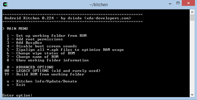 android+kitchen [Tutorial] [Windows] Setup Android Kitchen & Cygwin Root
