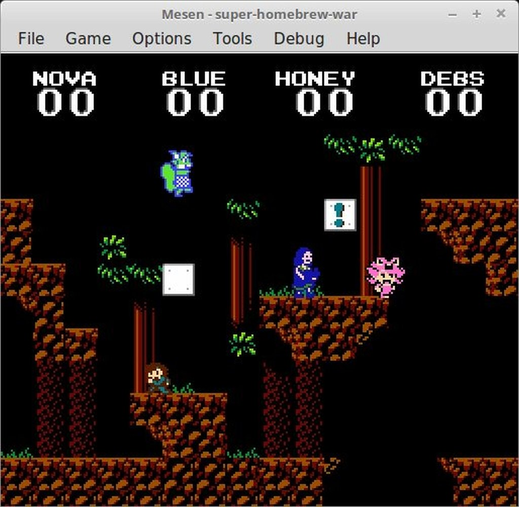 Super Homebrew War - Fight it out in this 4     - Indie Retro News