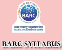 BARC Exam Syllabus