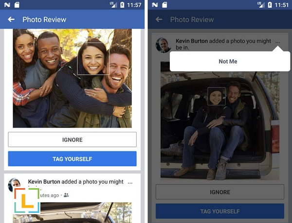 facebook facial recognition will alert you when you appear on a photo