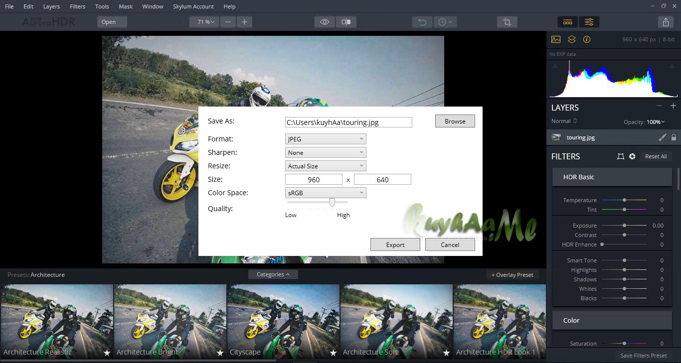 Aurora HDR free download