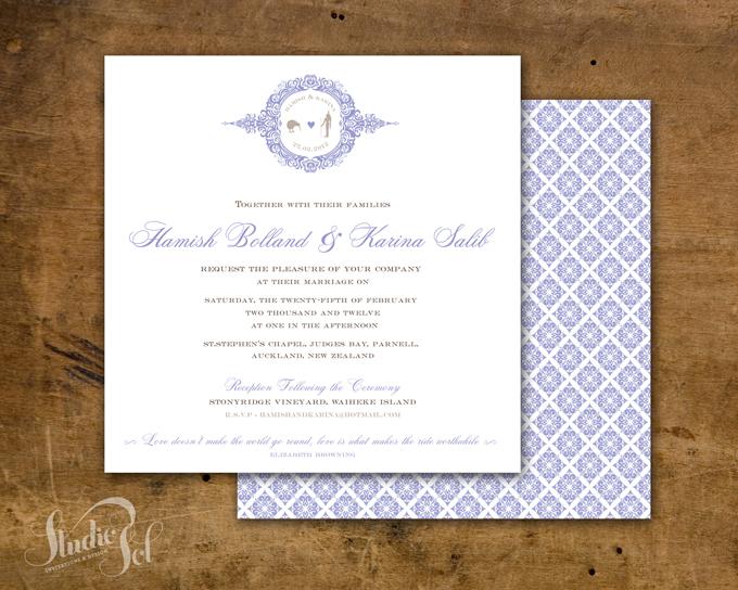 Dubai Wedding Invite