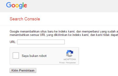 Agar Posting Blog Cepat Terindex Google
