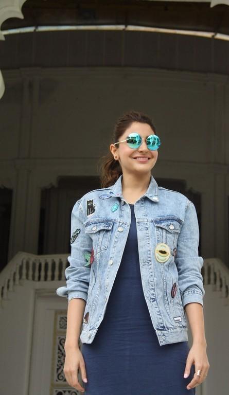 Anushka Sharma Smiling Face With glass Stills
