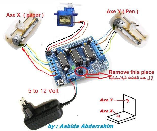 mini cnc machine arduino based adafruit driver motor. Black Bedroom Furniture Sets. Home Design Ideas