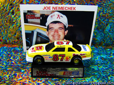 Joe Nemechek #87 Racing Champions 1/64 NASCAR die-cast blog Texas Pete BGN Lozitos