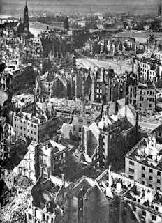 Dresden ruined