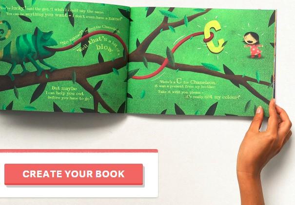 歐洲Google創投取得英國童書公司,提供個性化兒童書籍
