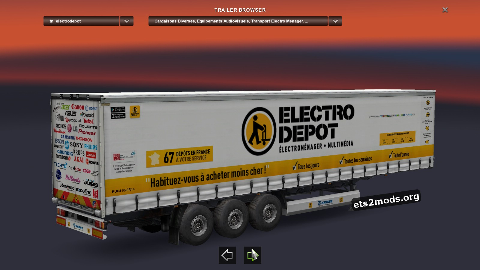 Trailer - Eectro Depot French Real Society