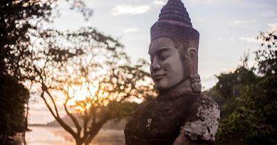 El proyecto de Camboya está muy cerca de Battambang y de los famosos templos de Angkor Wat