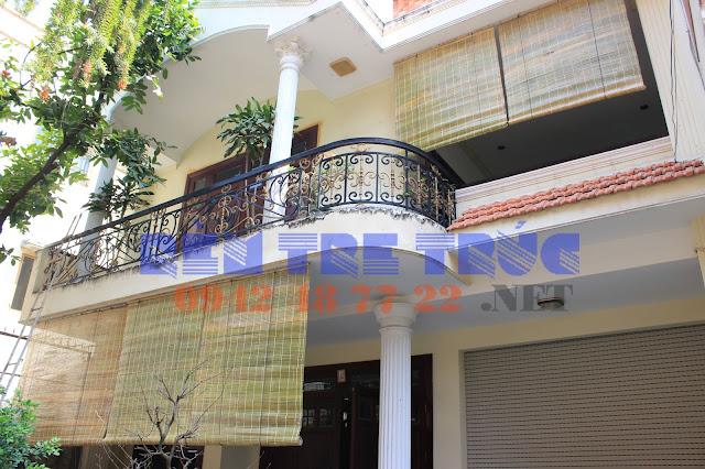 Rèm tre trúc chống nắng hiệu quả cho ban công nhà bạn