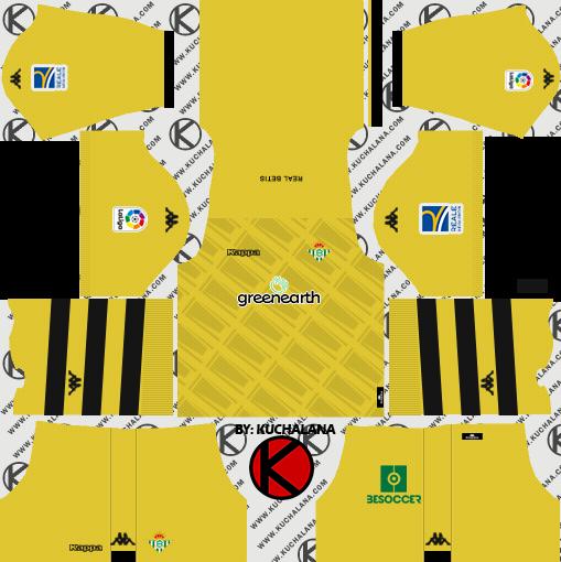 26d187cfb Real Betis 2018 19 Kit - Dream League Soccer Kits - Kuchalana