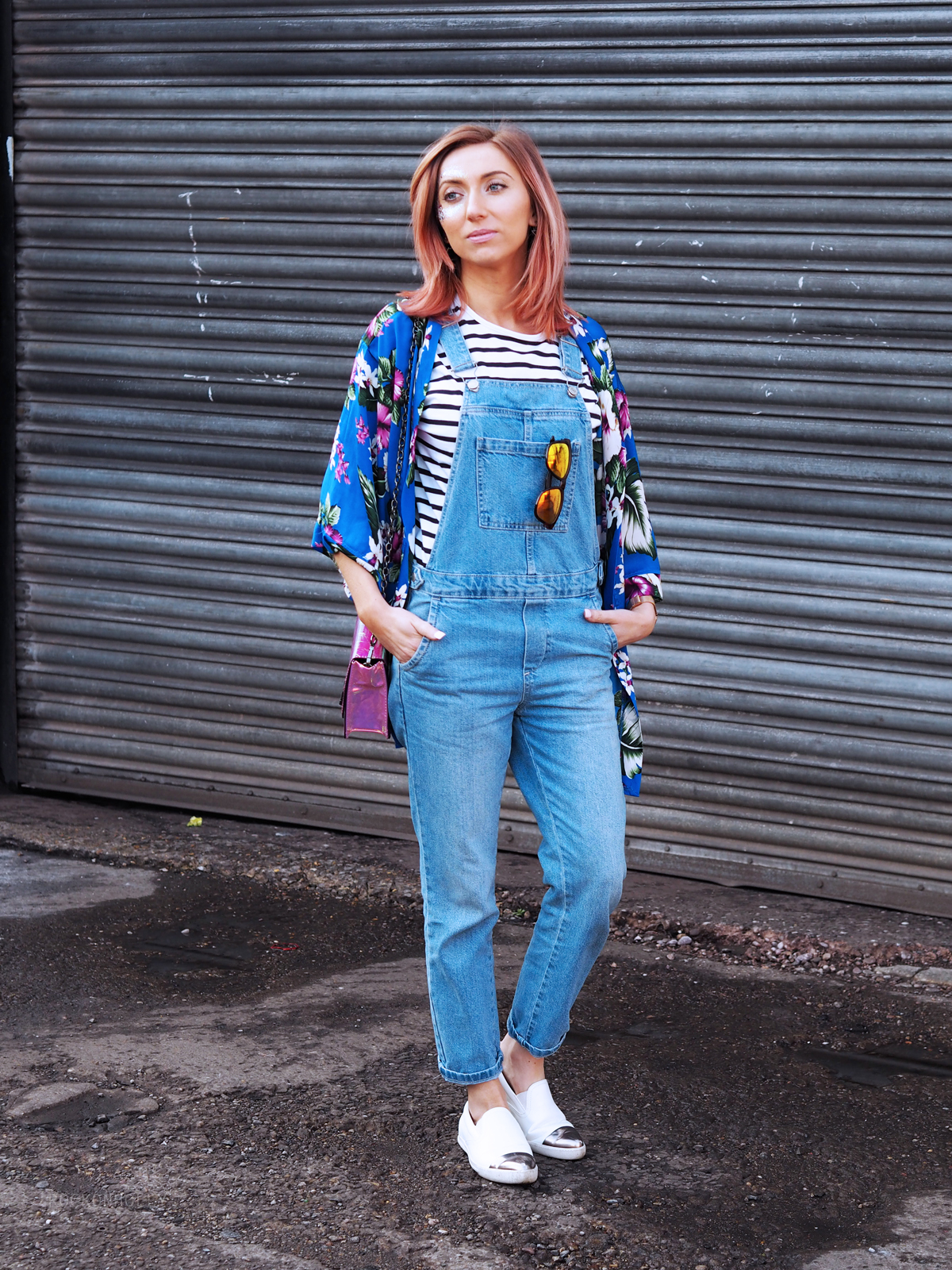 Topshop Dungarees on the Rock On Holly Fashion blog