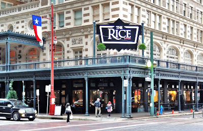 The Rice (historic hotel converted to lofts and restaurants & bars at street level)