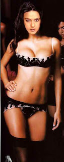 Bollywood Actress Gorgeous Dimple Girl Preity Zinta Full