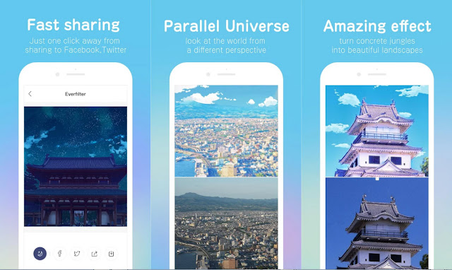 Everfilter Apk v1.1 Aplikasi Edit Foto Animasi Versi Terbaru Android Download