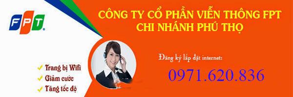 Lắp đặt internet fpt phường Dữu Lâu, Việt Trì