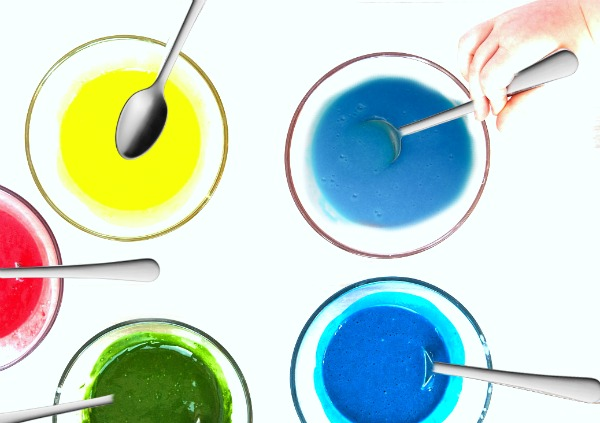 TASTE-SAFE PAINT FOR KIDS (easy recipe) #paintingideas #playrecipes #playrecipesforkids #paintrecipeshomemade #paintrecipe #paintrecipeforkids  #koolaidfingerpaint