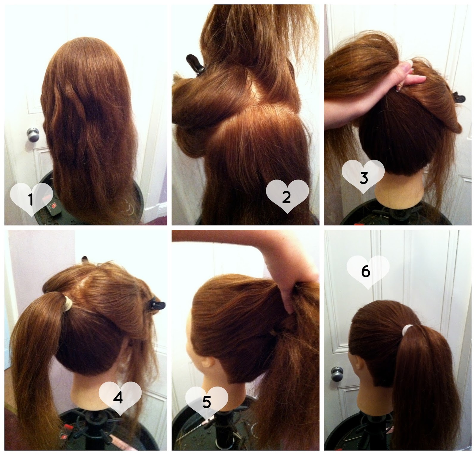 MakeUp.Etc: Easy Updo Tutorial: High Ponytail