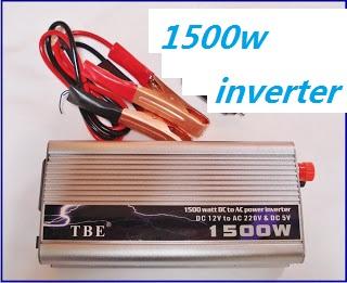 INVERTER 1500 W