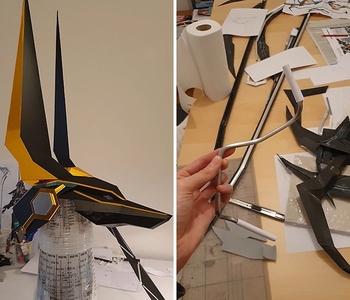 A Woman Spent 1000 Hours Working On A Perfectly Detailed Anubis Costume That Looks Like It Was Made With CGI