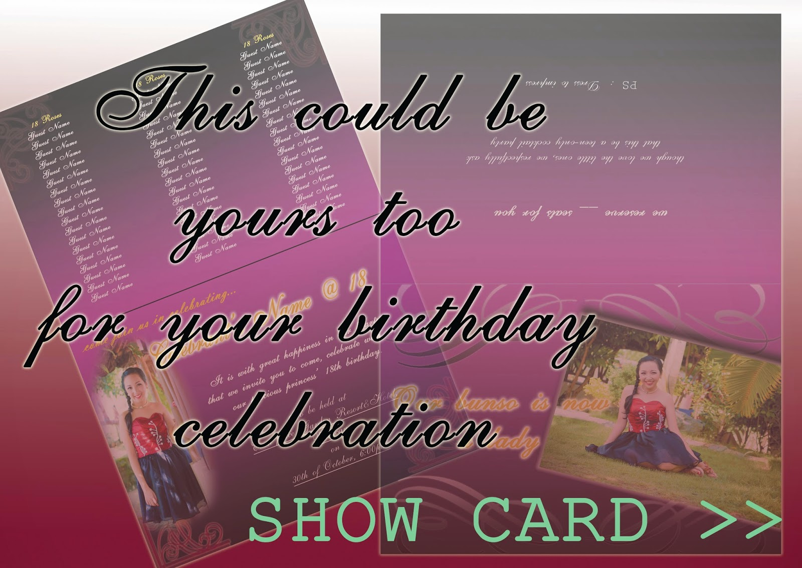 A Princess Celebrated Her 18th Birthday With Loving Family And Friends I Am More Than Happy To Provide Card Design For Free