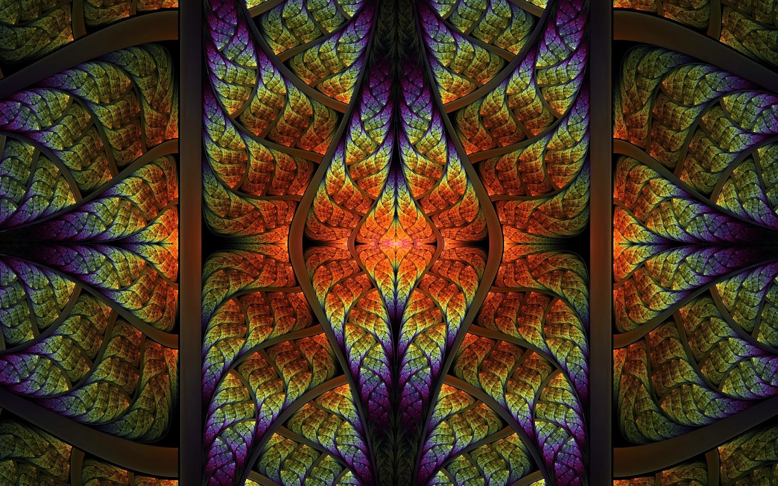 HD Abstract Fractal Pattern Latest Art Collection Free ...
