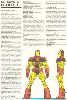 Hombre de Hierro (Ironman) Marvel