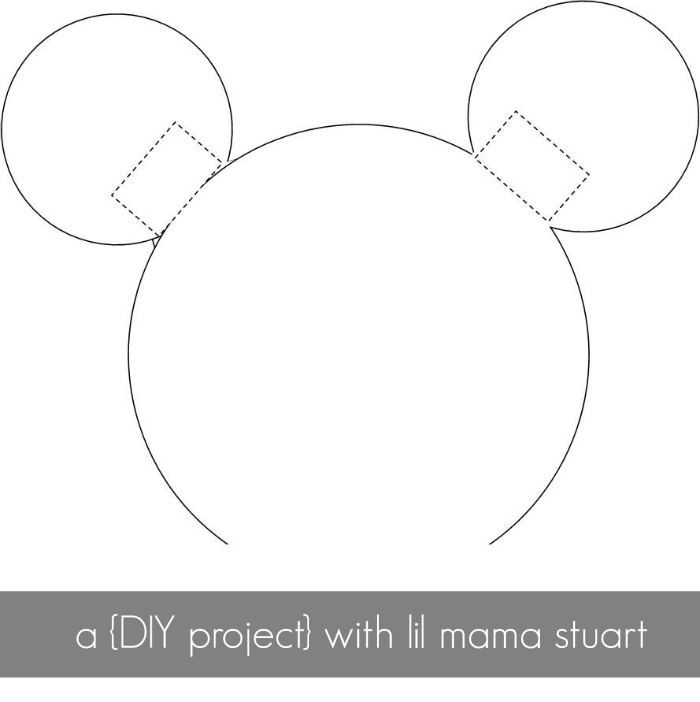 a {day} with lil mama stuart: DIY Mickey & Minnie Mouse Ears