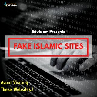 Fake Islamic website