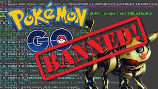 4 Hal Yang Bisa Membuat Akun Pokemon GO Di Ban Permanen