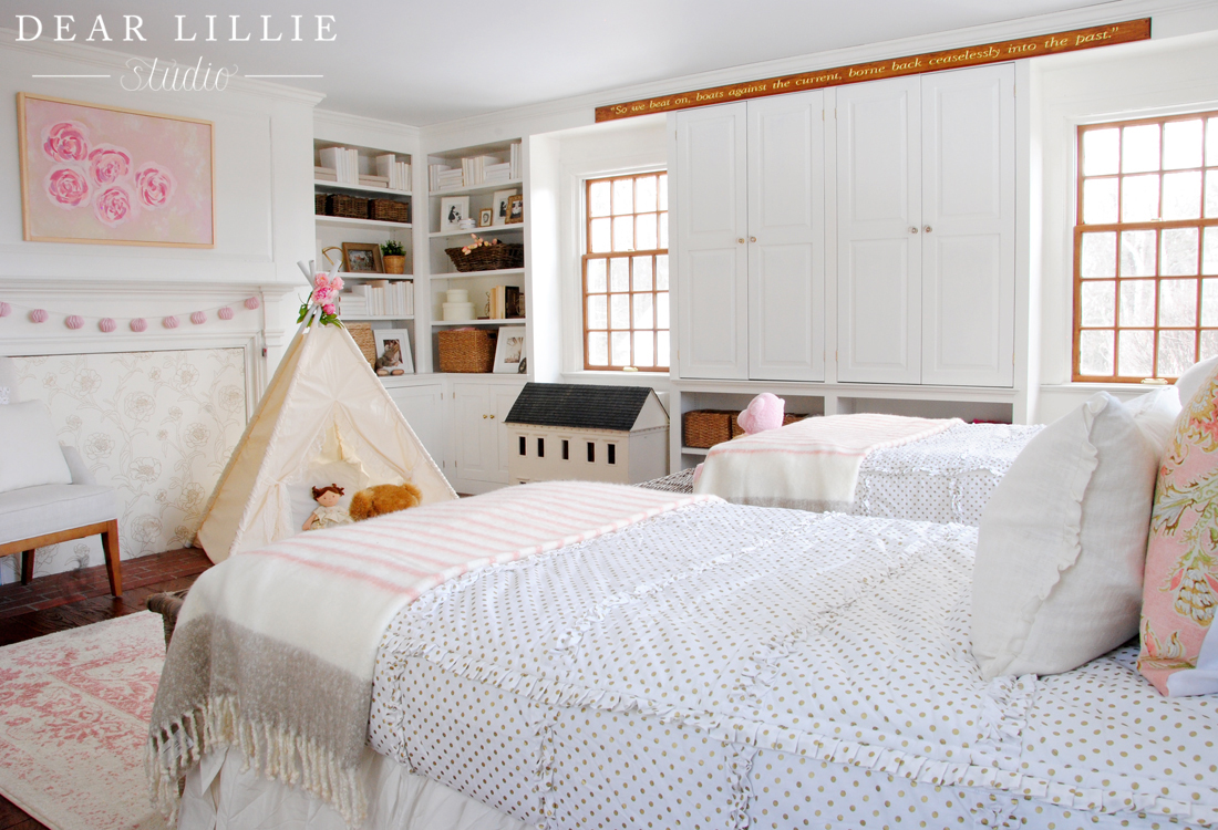 Dear Lillie: New Rug In Everly And Eloise's Room At