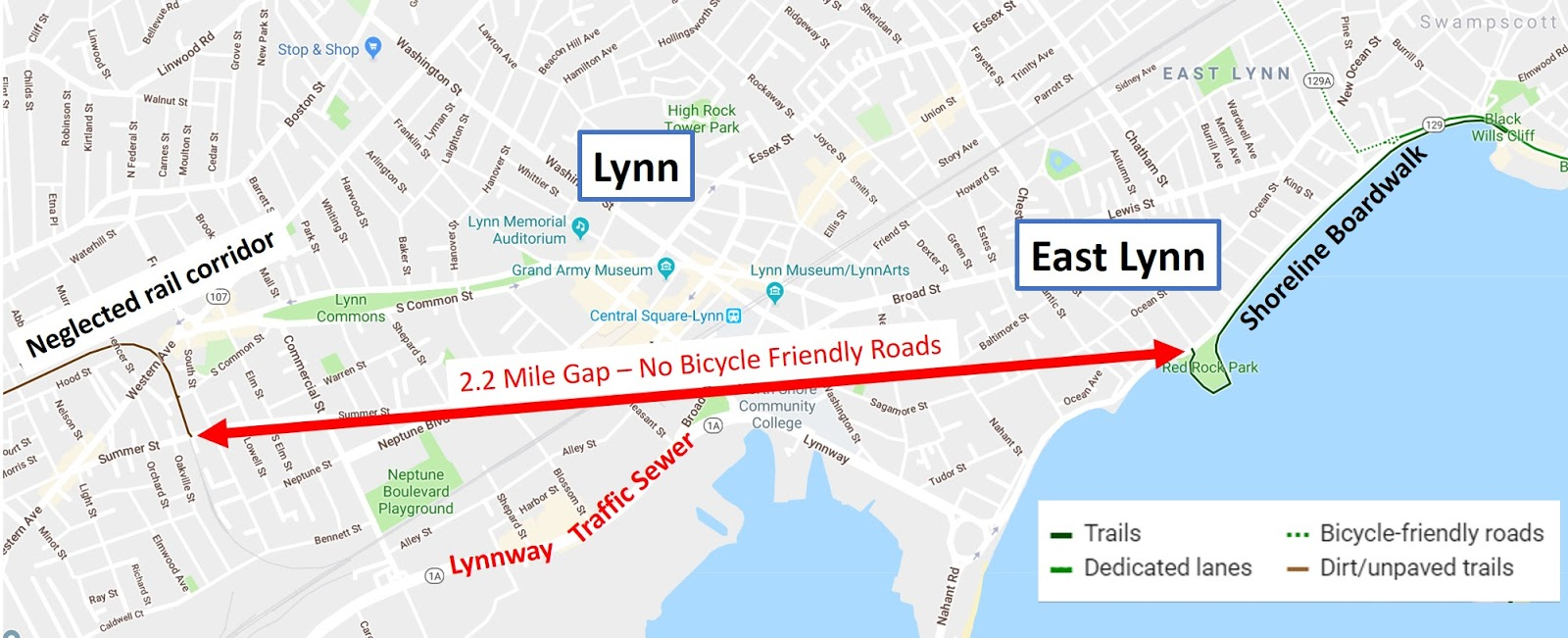 is there an equity gap in your greenway