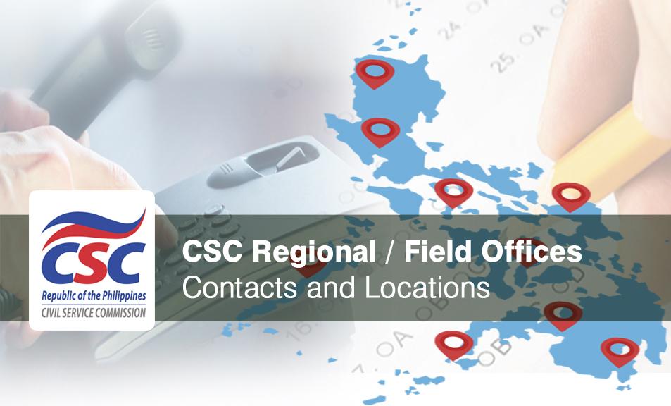 Civil Service Exam PH: Directory of Civil Service Commission