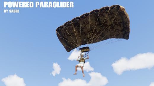 Arma3用パラグライダー MOD