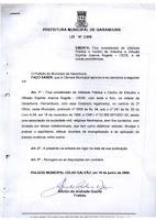 Lei nº 2.999 de 19 de junho de 2000 considera o CEDE de utilidade pública