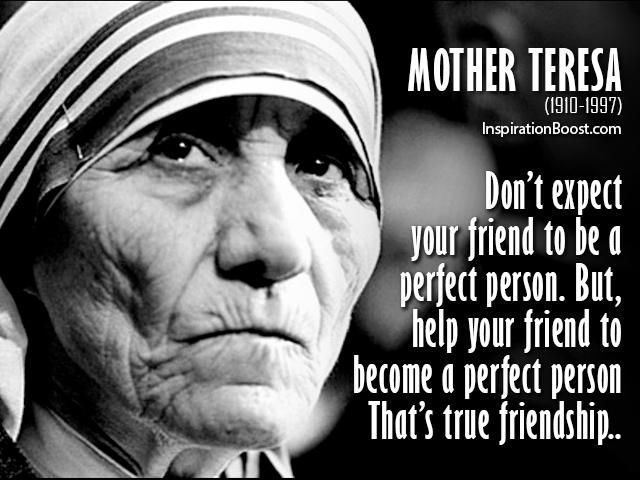 """Beads Of Joy"" By RosaryManJim: Mother Teresa's Joy"