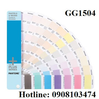 Pantone Plus Pastel & Neon Coated & Uncoated GG1504