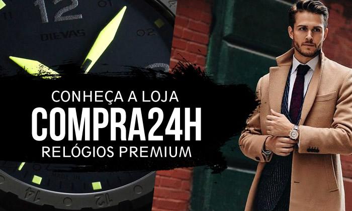 Conheça a Loja Compra24h, Relógios Premium Masculinos!
